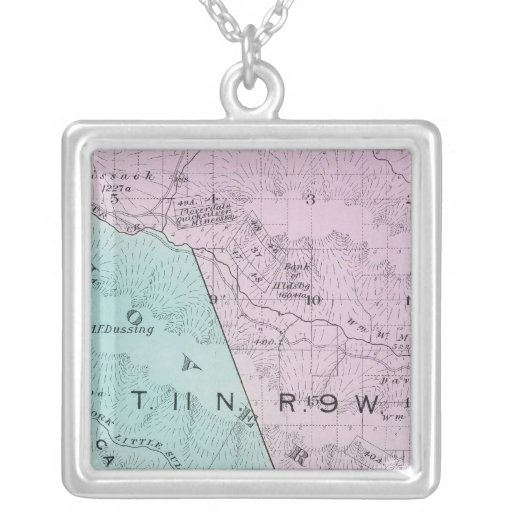 Sonoma County, California 6 Personalized Necklace