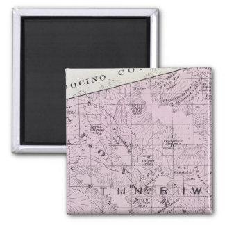 Sonoma County, California 7 2 Inch Square Magnet