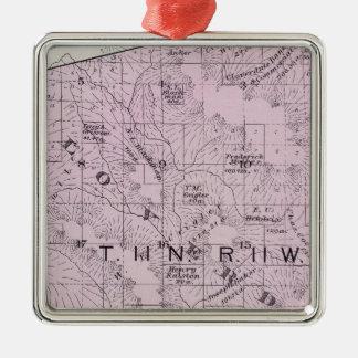 Sonoma County, California 7 Metal Ornament