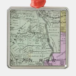 Sonoma County, California Metal Ornament