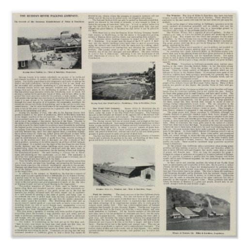 Sonoma County, California Print