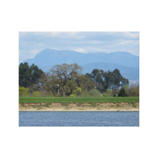 Sonoma County Hills in March Canvas Print