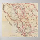 Sonoma, Marin, lago, y condados de Napa Póster