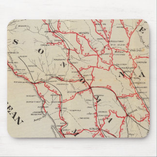 Sonoma, Marin, lago, y condados de Napa Alfombrilla De Ratón