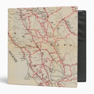 Sonoma, Marin, Lake, and Napa Counties 3 Ring Binder