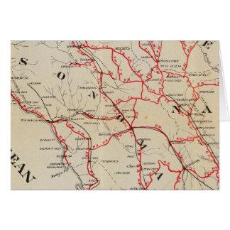 Sonoma, Marin, Lake, and Napa Counties Card