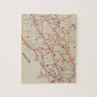 Sonoma, Marin, Lake, and Napa Counties Jigsaw Puzzle