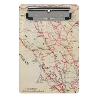 Sonoma, Marin, Lake, and Napa Counties Mini Clipboard