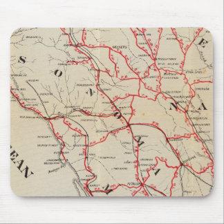 Sonoma, Marin, Lake, and Napa Counties Mouse Pad