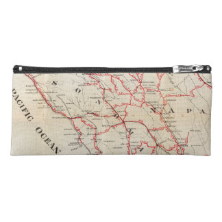 Sonoma, Marin, Lake, and Napa Counties Pencil Case
