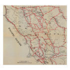Sonoma, Marin, Lake, and Napa Counties Poster