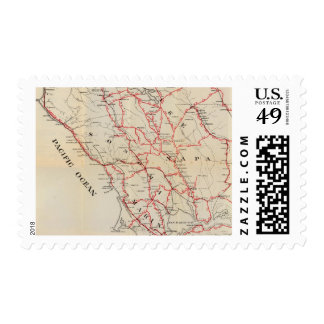 Sonoma, Marin, Lake, and Napa Counties Stamp