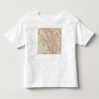 Sonoma, Marin, Lake, and Napa Counties T-shirt