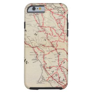 Sonoma, Marin, Lake, and Napa Counties Tough iPhone 6 Case