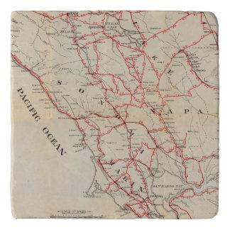 Sonoma, Marin, Lake, and Napa Counties Trivet