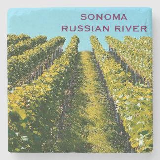 Sonoma Russian River Marble Stone Coaster