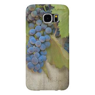 Sonoma Shiraz Wine Grapes Rustic Vineyard Winery Samsung Galaxy S6 Case