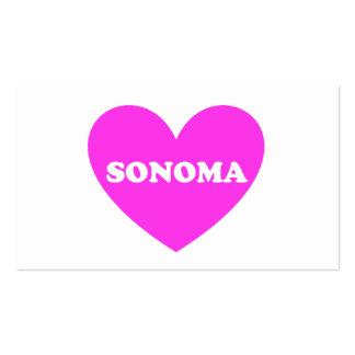 Sonoma Tarjeta De Visita