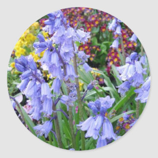 Sonoma Winery Spring Bouquet Round Stickers