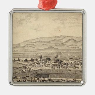 Sonoma y sociedad agrícola del distrito de Marin Ornamento De Navidad