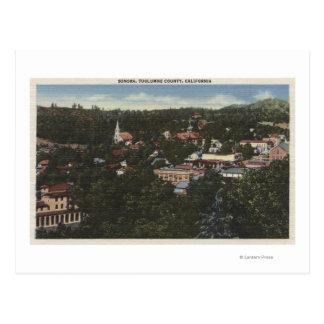 Sonora, CaliforniaAerial ViewSonora, CA Postcard