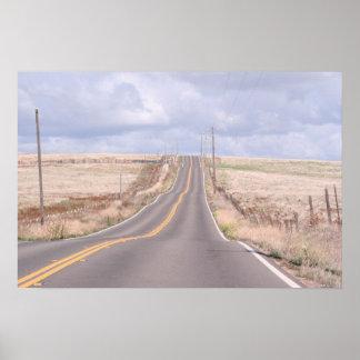 """Sonora de las """"carreteras con curvas"""", poster de C"""