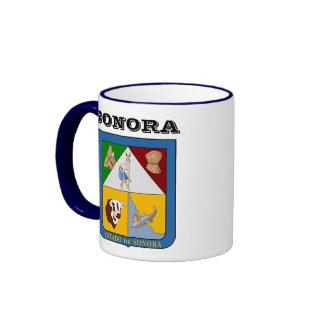 Sonora, taza del personalizado de México
