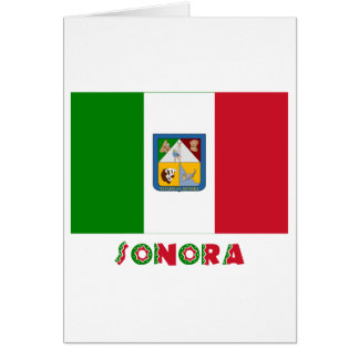 Sonora Unofficial Flag Card