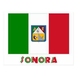 Sonora Unofficial Flag Postcard