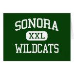Sonora - Wildcats - High - Sonora California Card