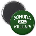 Sonora - Wildcats - High - Sonora California Fridge Magnets