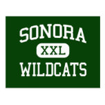Sonora - Wildcats - High - Sonora California Post Cards