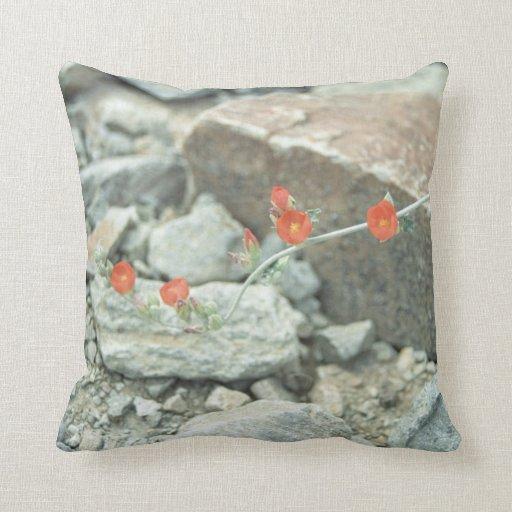 Sonoran Desert Blossoms Decorative Throw Pillow