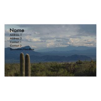 Sonoran Desert Business Cards