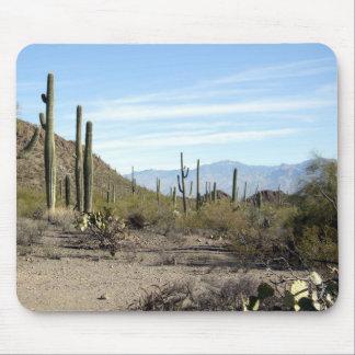 Sonoran desert scene 02 mouse pad
