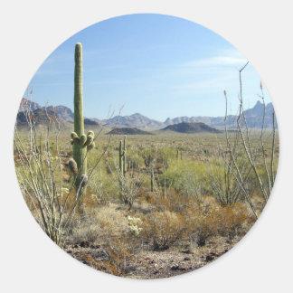 Sonoran Desert scene 09 Stickers