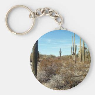 Sonoran Desert Scene 17 Key Chain