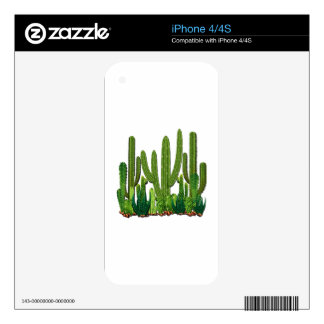 Sonoran Habitat Decal For The iPhone 4