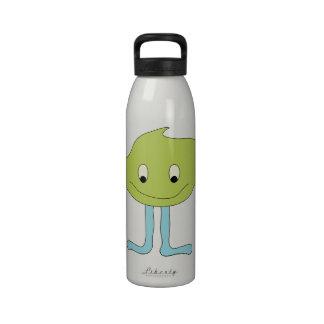 Sonríe ardiente =) agua de reutilizable de Botella Botella De Beber
