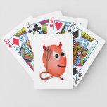 Sonriendo poco huevo de Devil'ed Baraja Cartas De Poker
