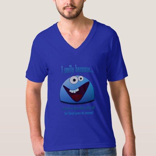 Sonrío porque… V2 Camisas