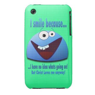 Sonrío porque… V2 iPhone 3 Case-Mate Fundas