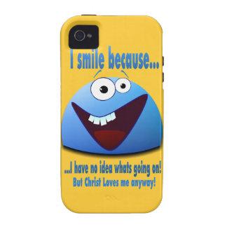 Sonrío porque… V2 iPhone 4 Funda