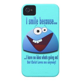 Sonrío porque… V2 iPhone 4 Case-Mate Cárcasa