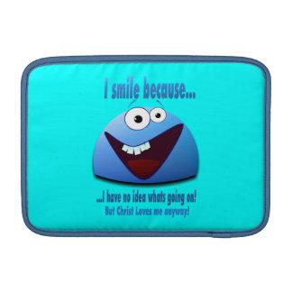 Sonrío porque… V2 Funda MacBook