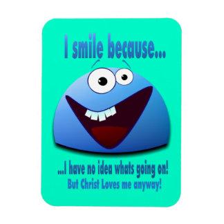 Sonrío porque… V2 Iman Rectangular