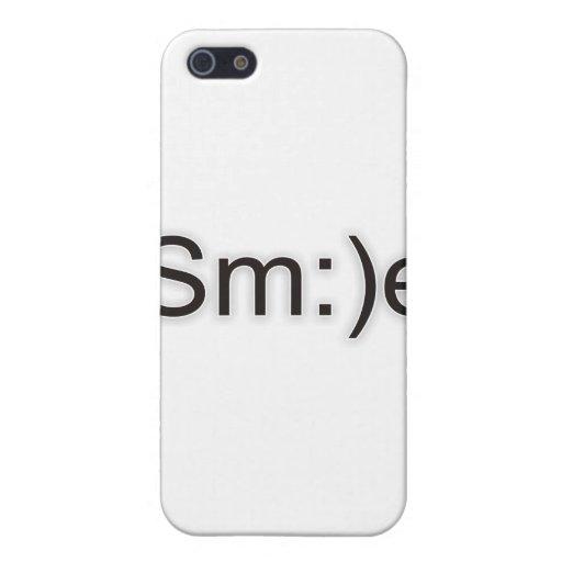 sonrisa 1.1a iPhone 5 funda