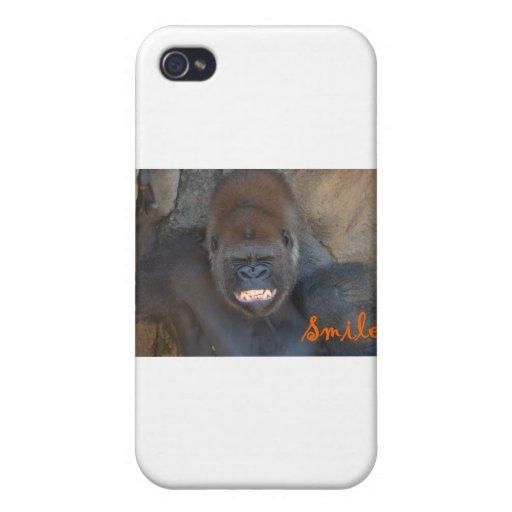 Sonrisa 2 de Joe iPhone 4 Funda