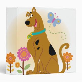 """Sonrisa abierta boca de Scooby Carpeta 1 1/2"""""""