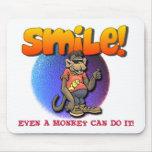 Sonrisa Alfombrillas De Ratón